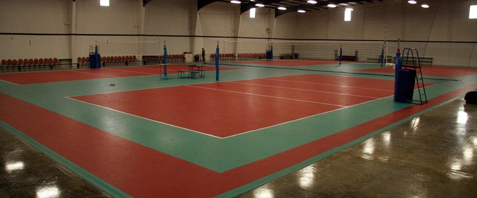 Spike Sport Volleyball Court Venue For Rent In Houston