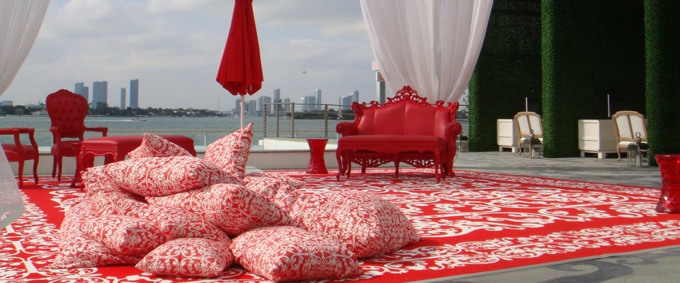 Red Lounge South | Plaza Venue for Rent in South Beach