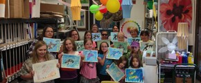 Awesome Art Birthday Party