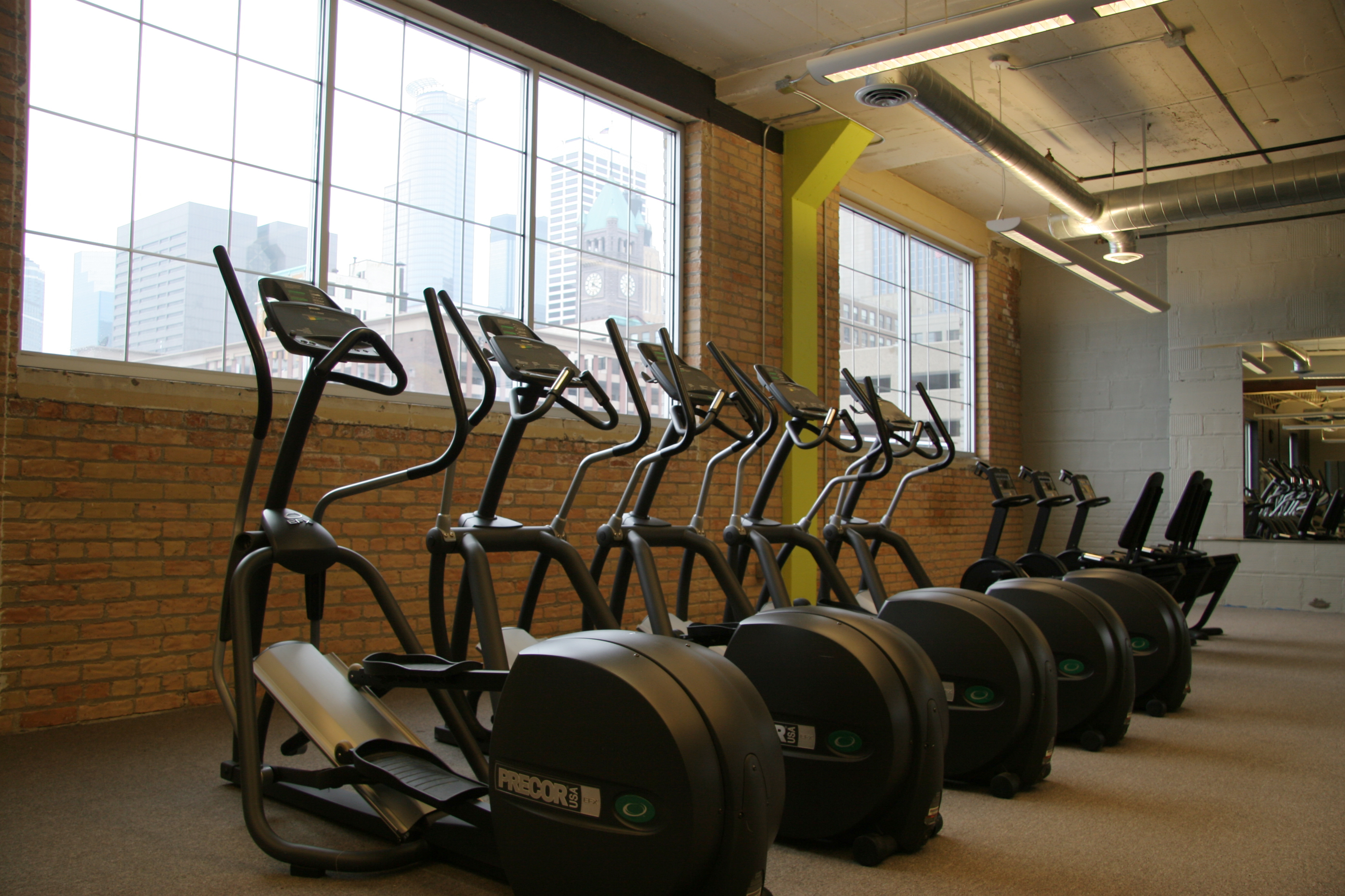 Fitness center gym venue for rent in minneapolis
