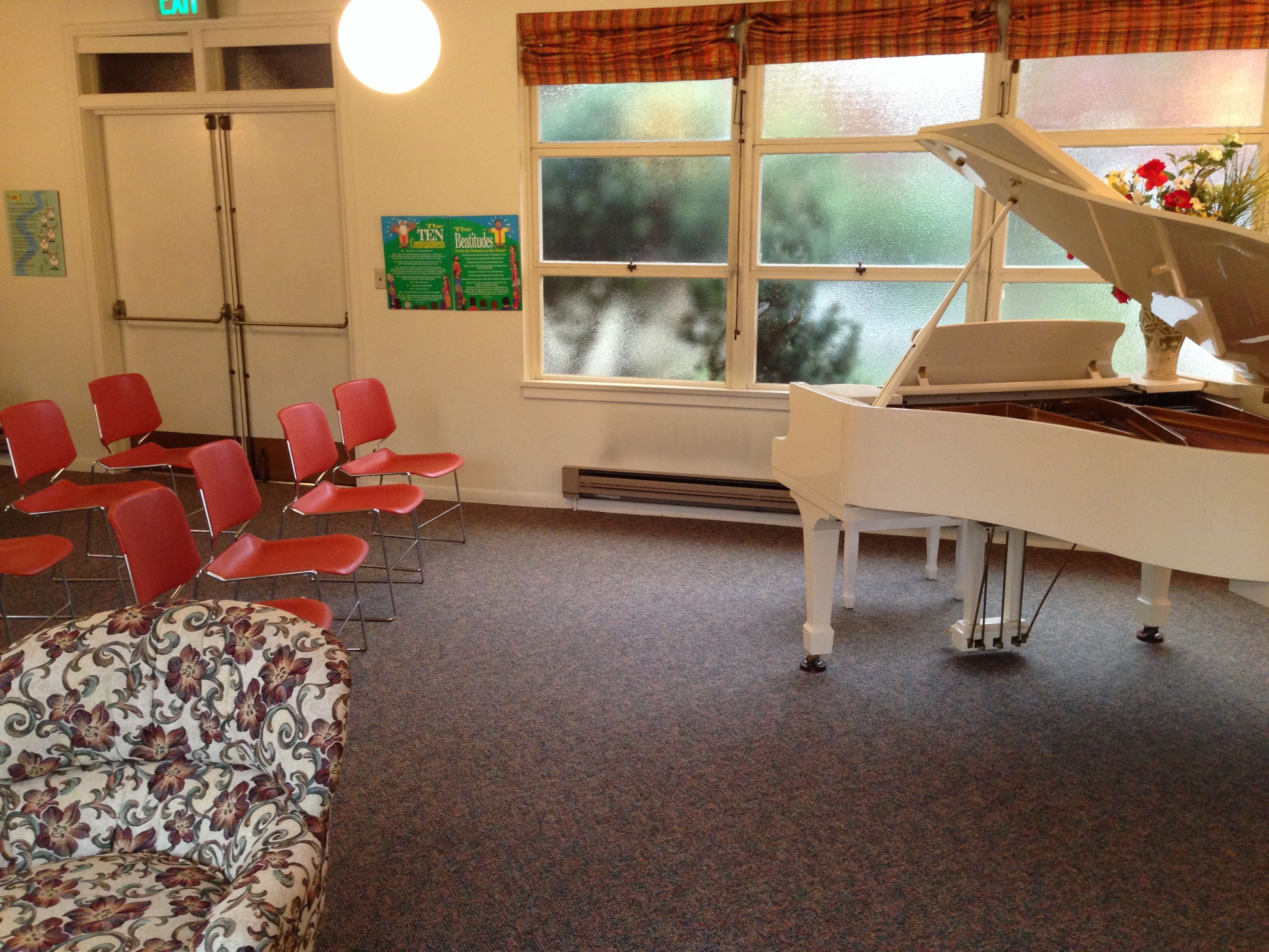 Share My Space At Thirteenth Church Of Christ, Scientist With Condition:  Music Room,