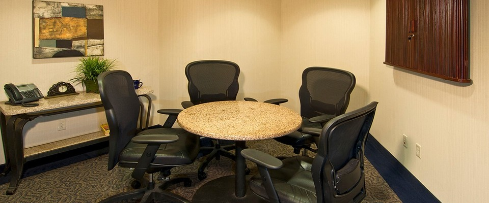 Person Con Conference Room Venue For Rent In Loveland - 4 person conference table