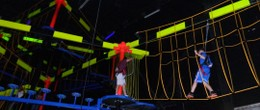 Glow-In-The-Dark Ropes Course